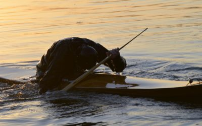 Mindful kayak rolling, the ultimate cleanse?